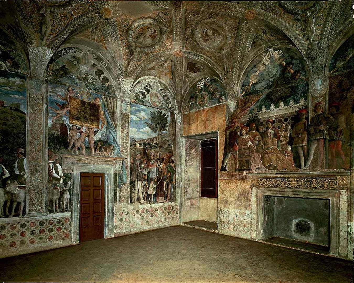 Walls   A italian renaissance andrea mantegna art wallpaper picture 1350x1080