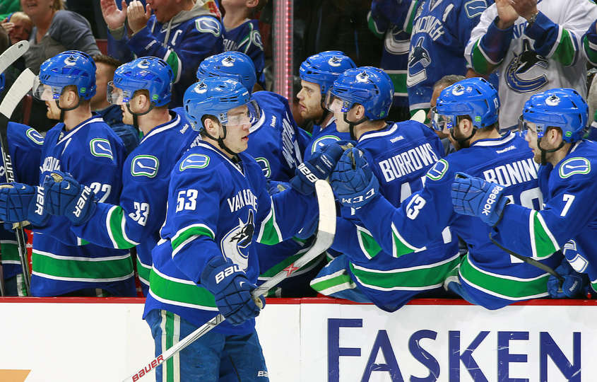 Canucks vs Ducks   09032015   Vancouver Canucks   Photos 845x540