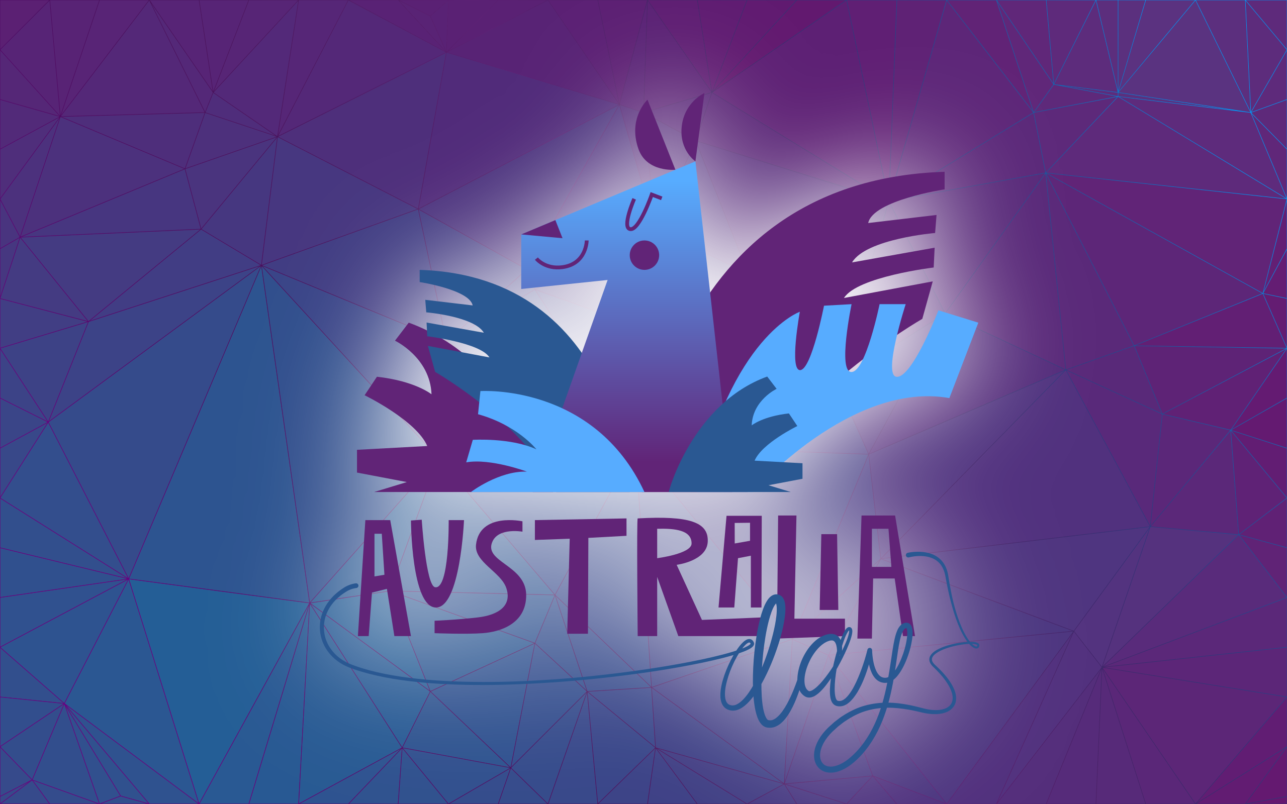 Artistic Australia Day Wallpaper HD Wallpaper Background Image 2560x1600