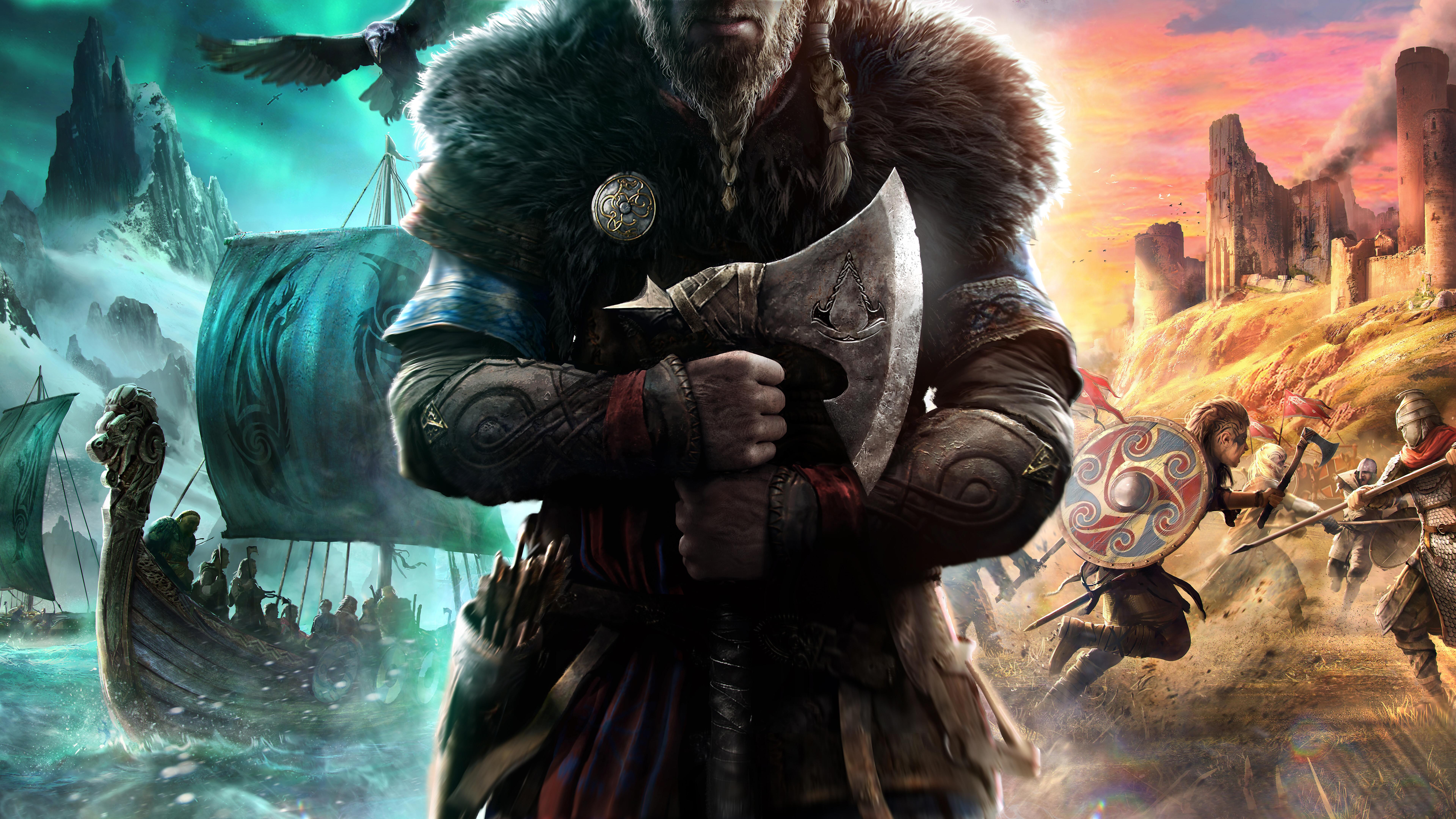 Assassins Creed Valhalla 8K Wallpaper 71958 7680x4320