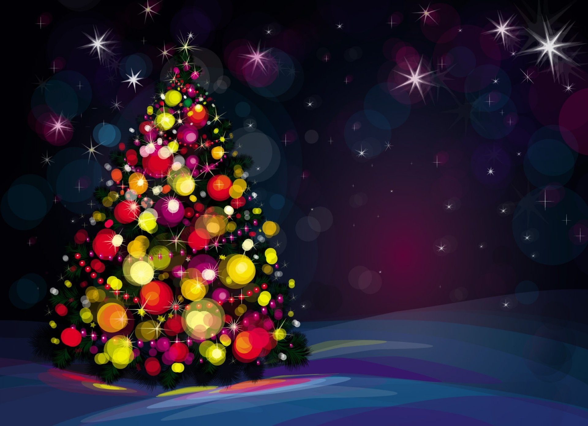 Beautiful christmas tree wallpaper - Beautiful Christmas Tree Wallpapers 10