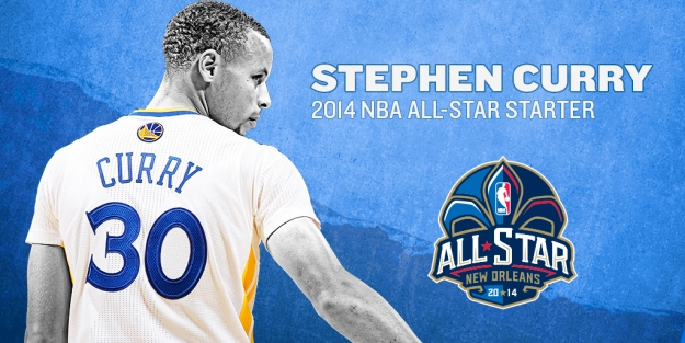 Stephen Curry Named All Star Starter 625x313