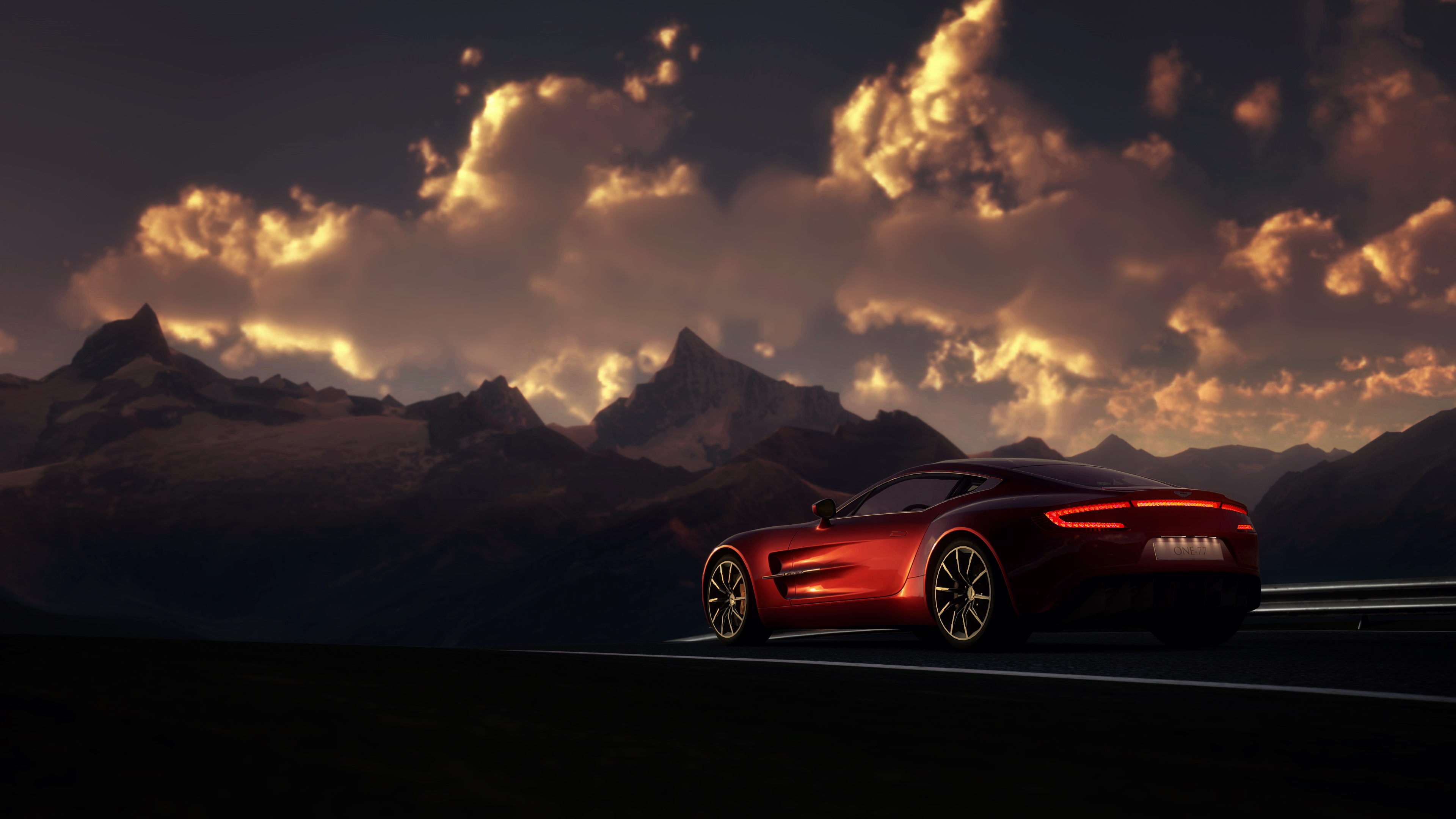 Wallpaper 4k Aston Martin One 77 Gran Turismo 6 4k wallpapers 3840x2160
