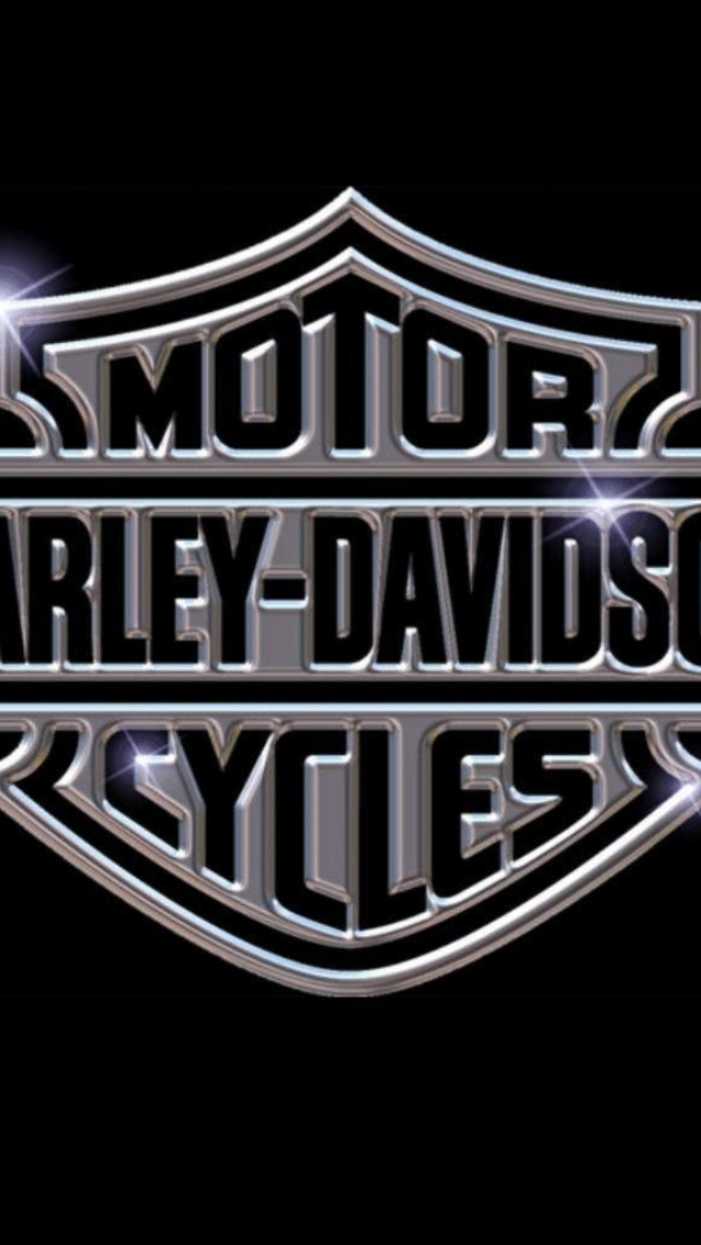 Harley Davidson Logo iPhone 5 Wallpaper 640x1136 640x1136