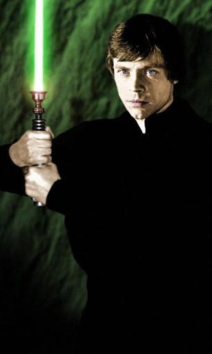 View bigger   Luke Skywalker Wallpapers for Android screenshot 307x512