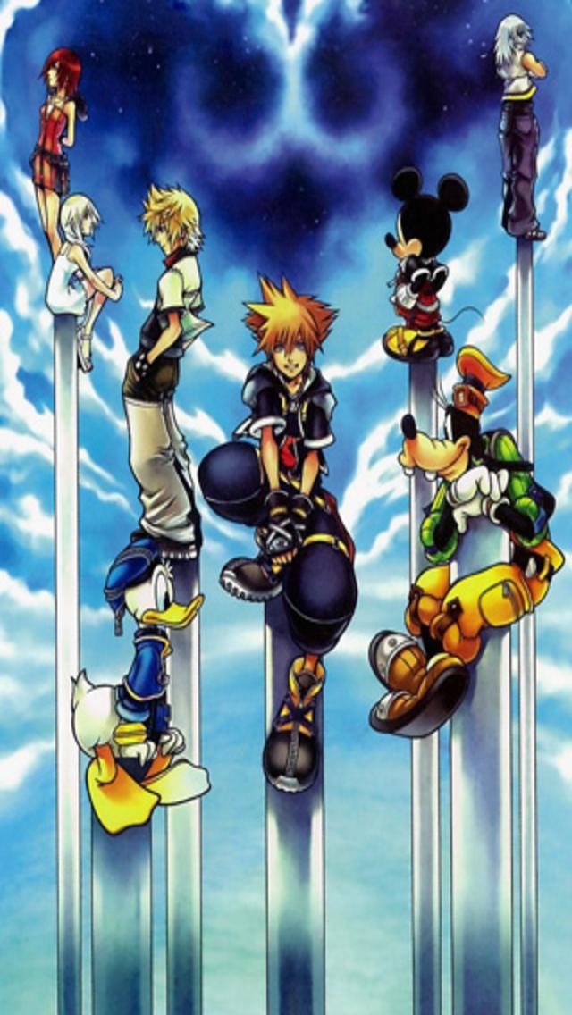 Kingdom Hearts iPhone Wallpaper - WallpaperSafari