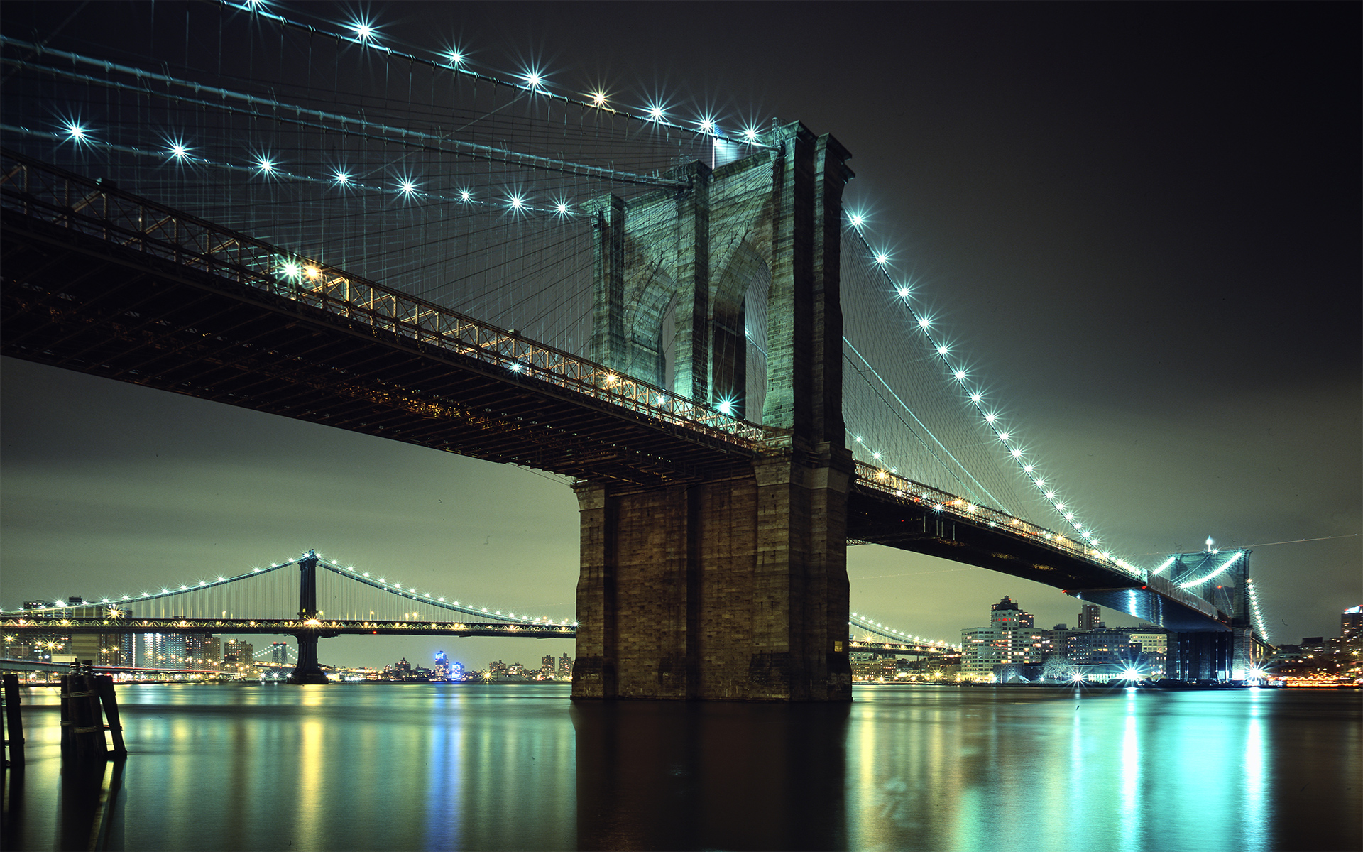 Brooklyn Bridge NYC Wallpapers HD Wallpapers 1920x1200