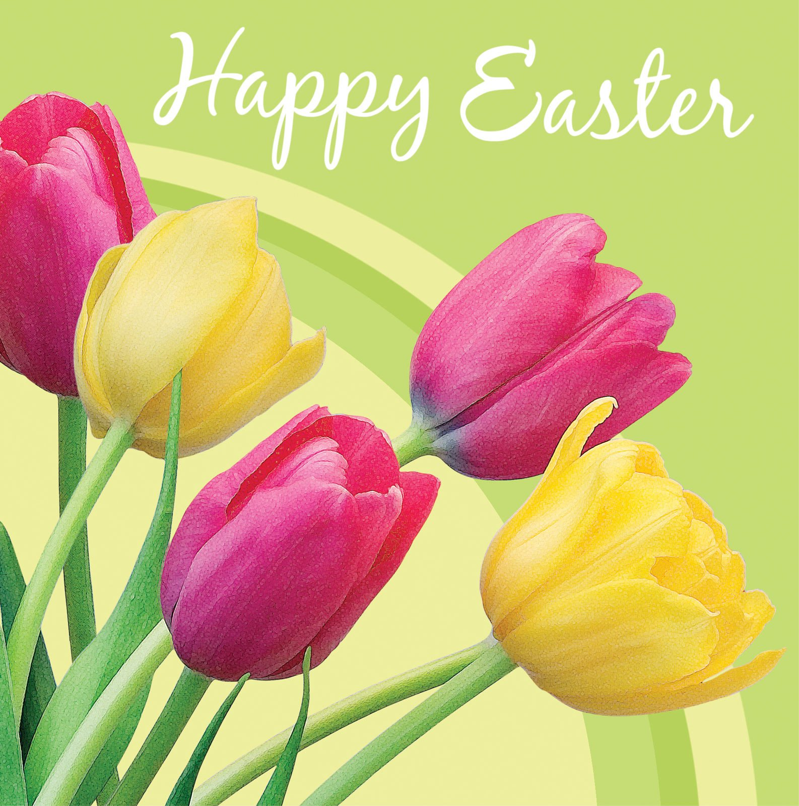 Happy Easter Background 1586x1600