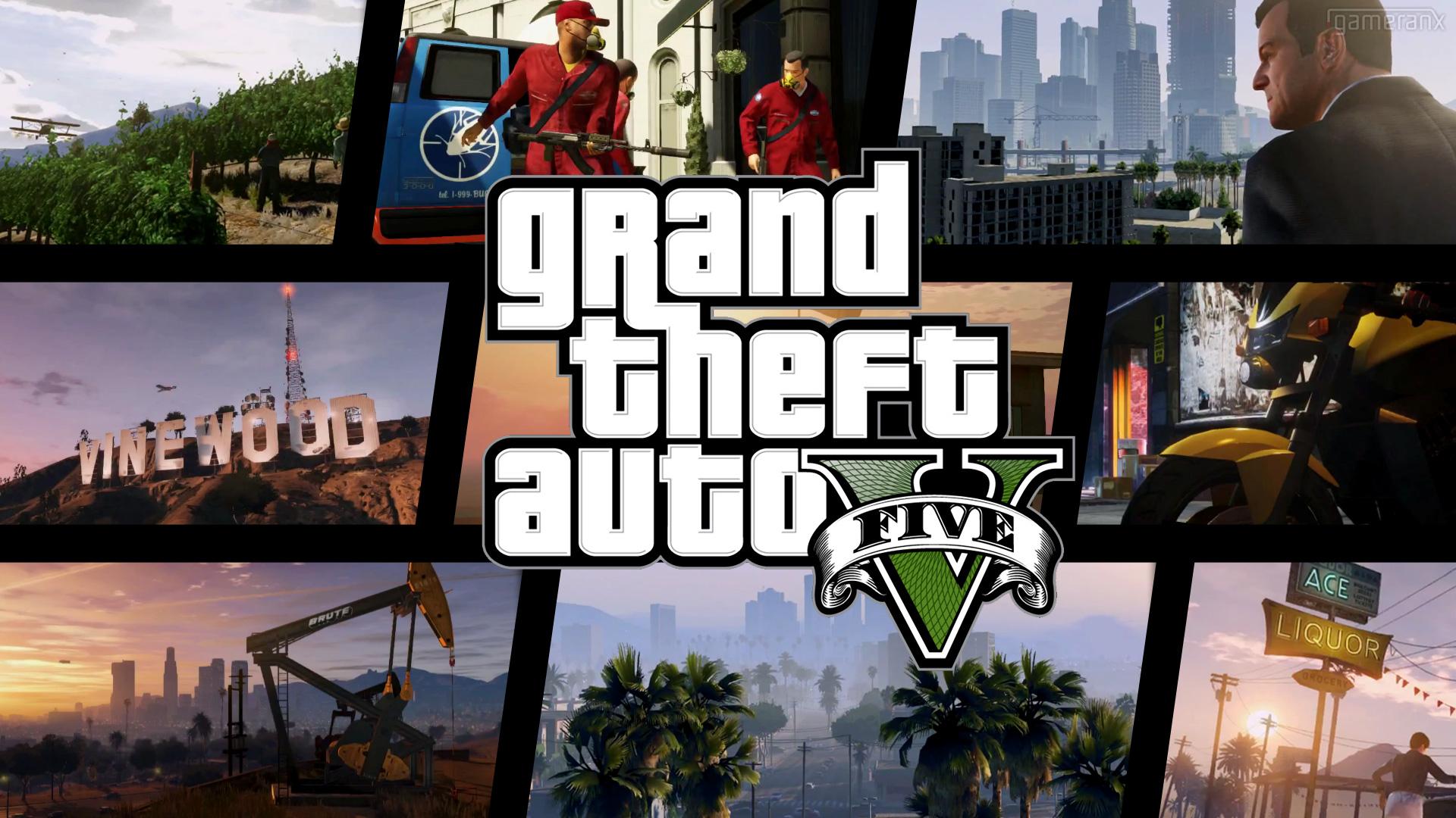 Wallpaper Gta 5 Grand Theft Auto V Rockstar 3 Wallpapers 1920x1080