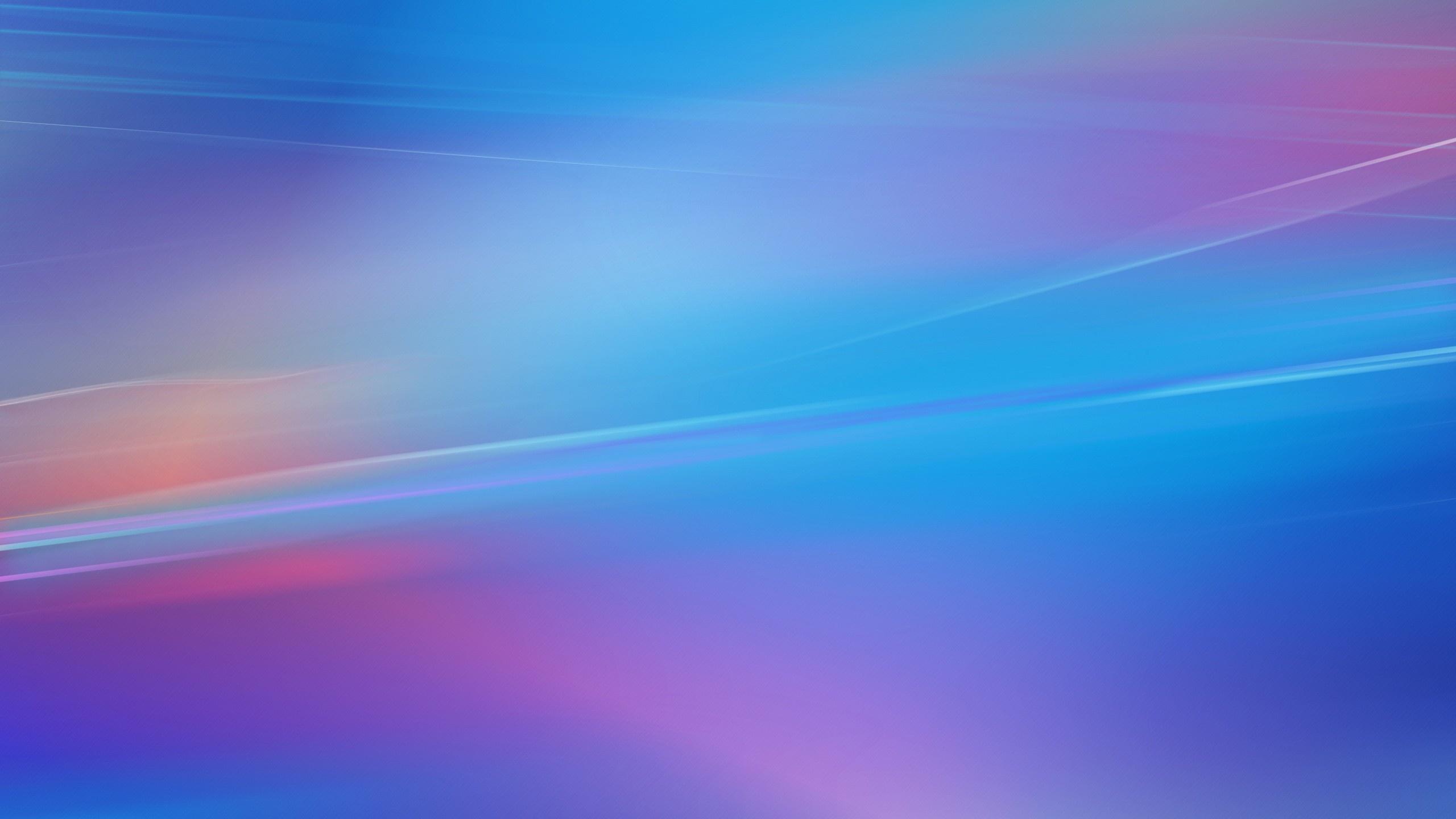 Blue Screen Lines Wallpaper 2560x1440