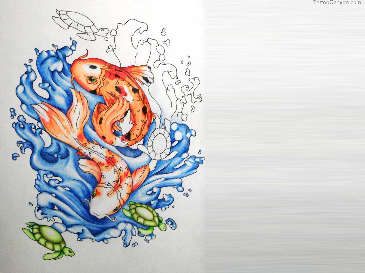 moving koi fish wallpaper wallpapersafari