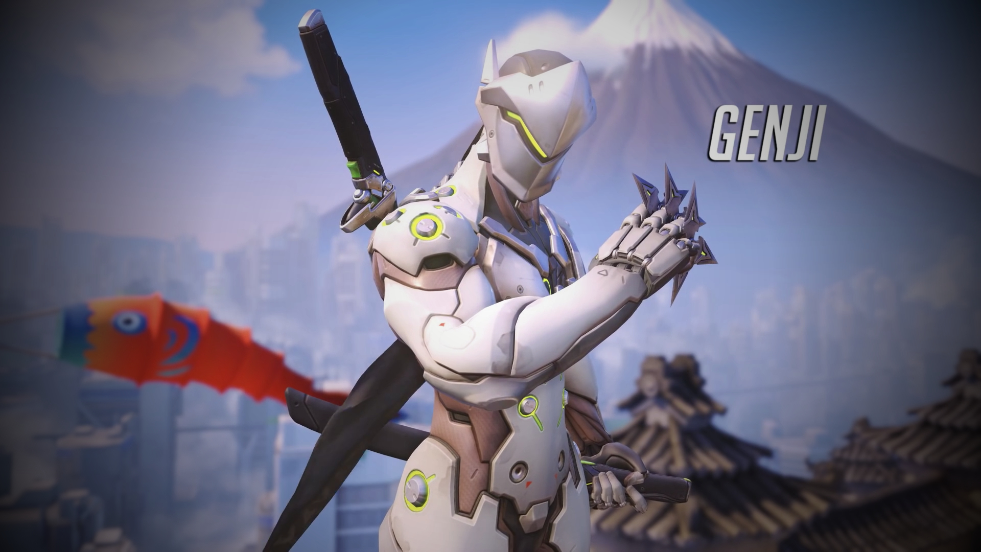 Overwatch Genji Wallpaper   1920 x 1080 by Mac117 1920x1080