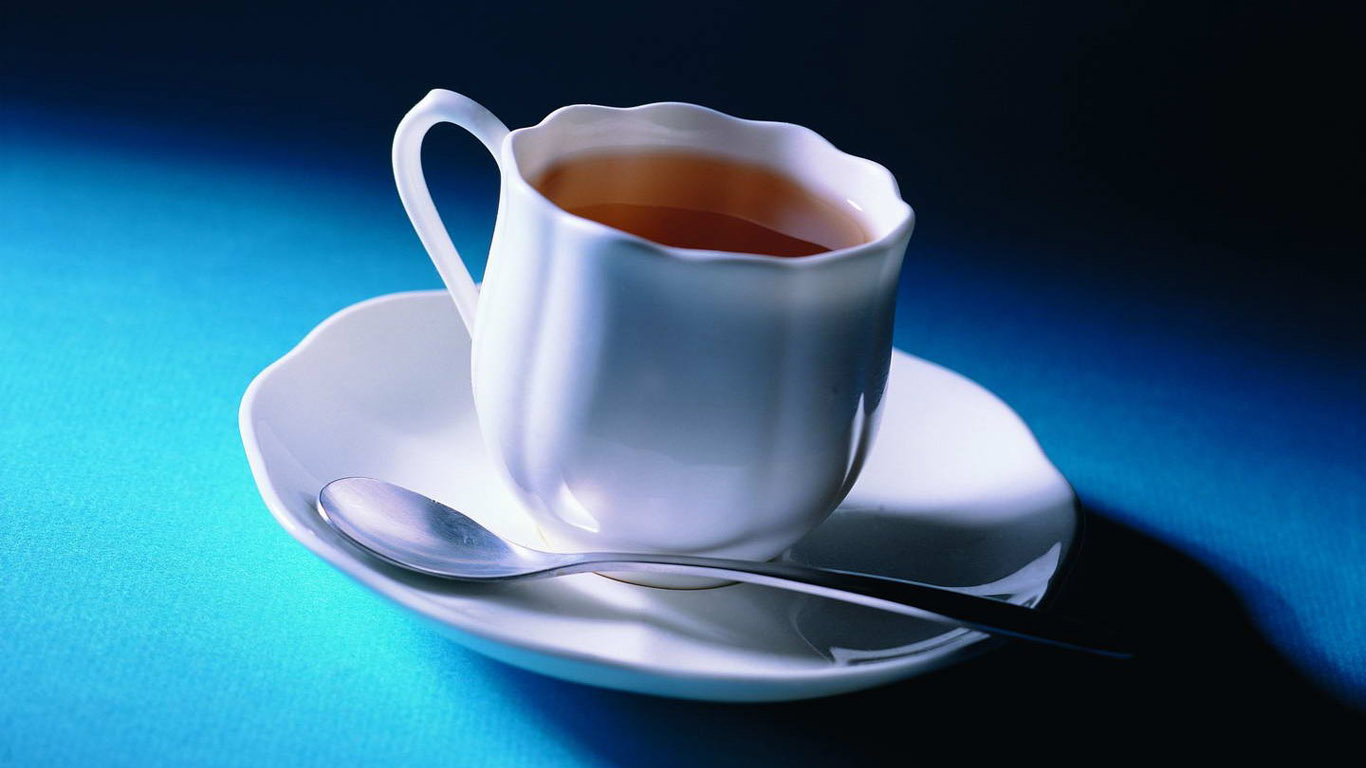 cup of tea COFFE wallpaper   ForWallpapercom 1366x768