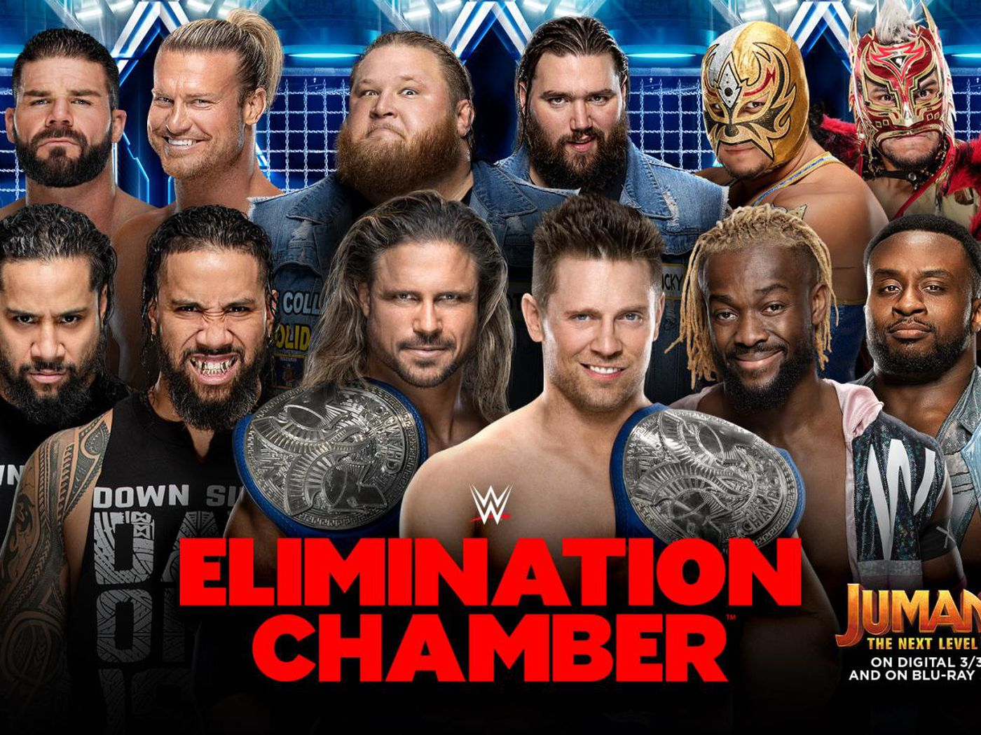 Elimination Chamber 2020 gets its second Elimination Chamber match 1400x1050