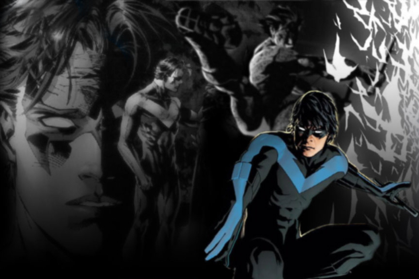 nightwing wallpaper by coramay wallpapers55com   Best Wallpapers 860x573