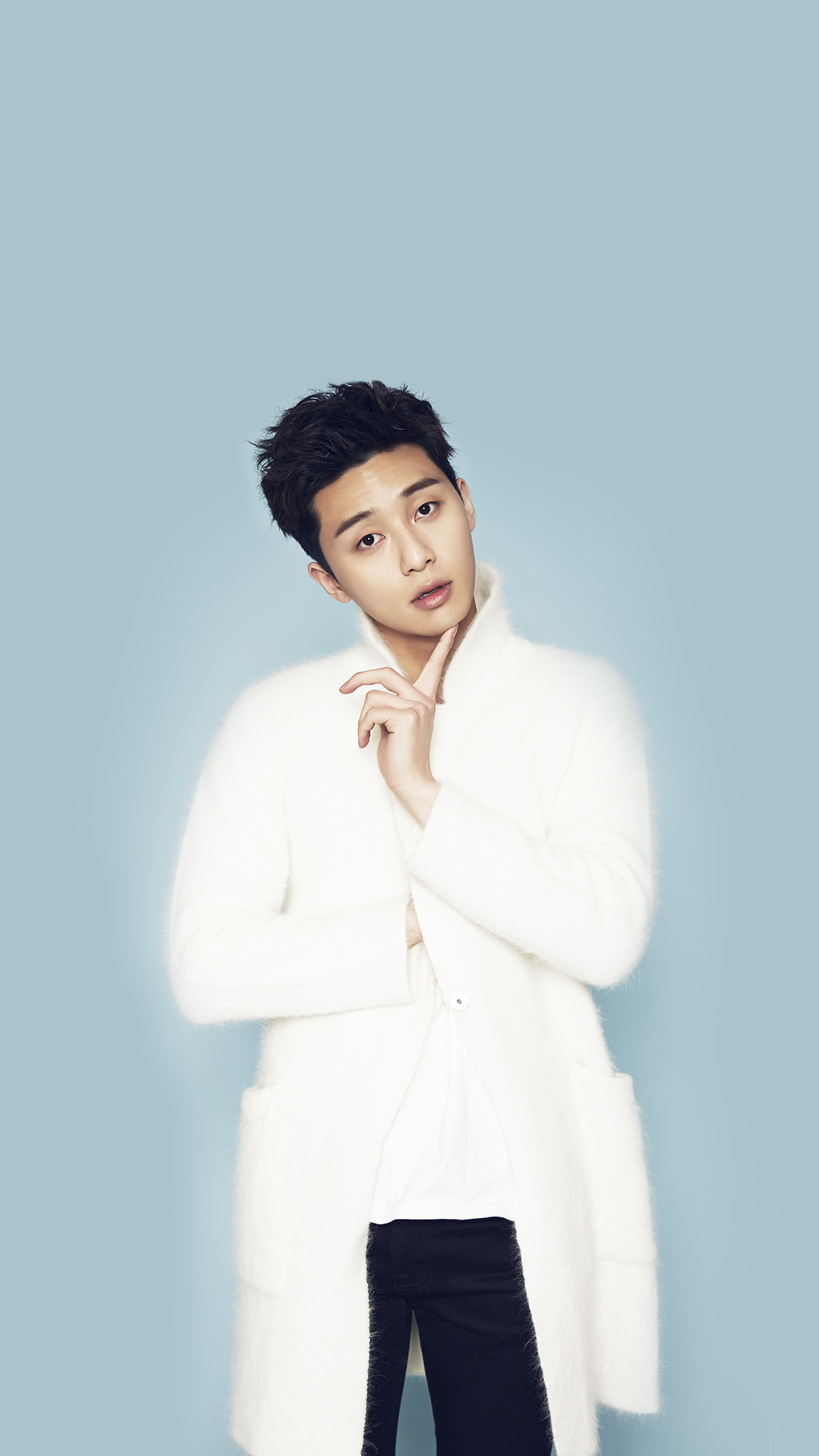 Park Seo Joon Kpop Blue Handsome Cool Guy Android wallpaper 1242x2208