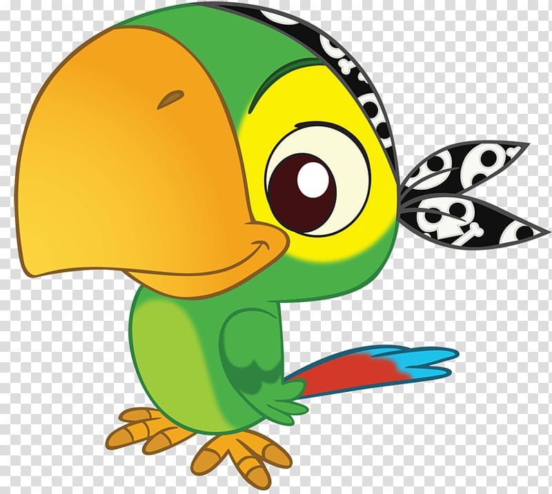Skully poses Jake and the Neverland Pirates transparent background 800x716