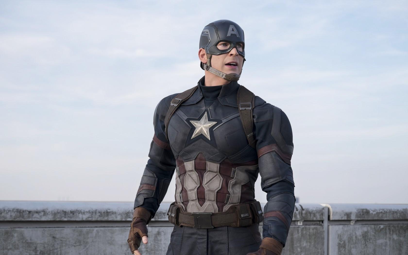 Captain America Civil War Chris Evans   New HD Wallpapers 1680x1050