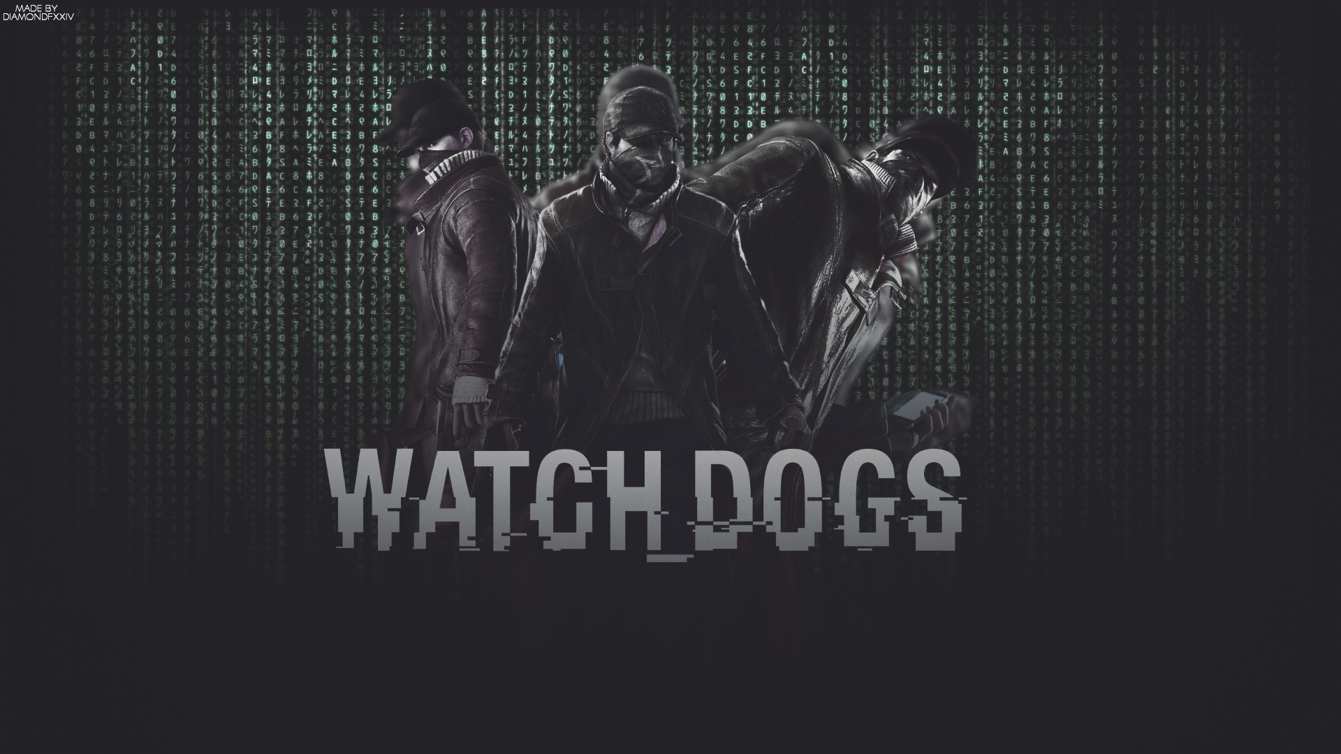 Free Download Watch Dogs Logo Wallpaper Watch Dogs Wallpaper