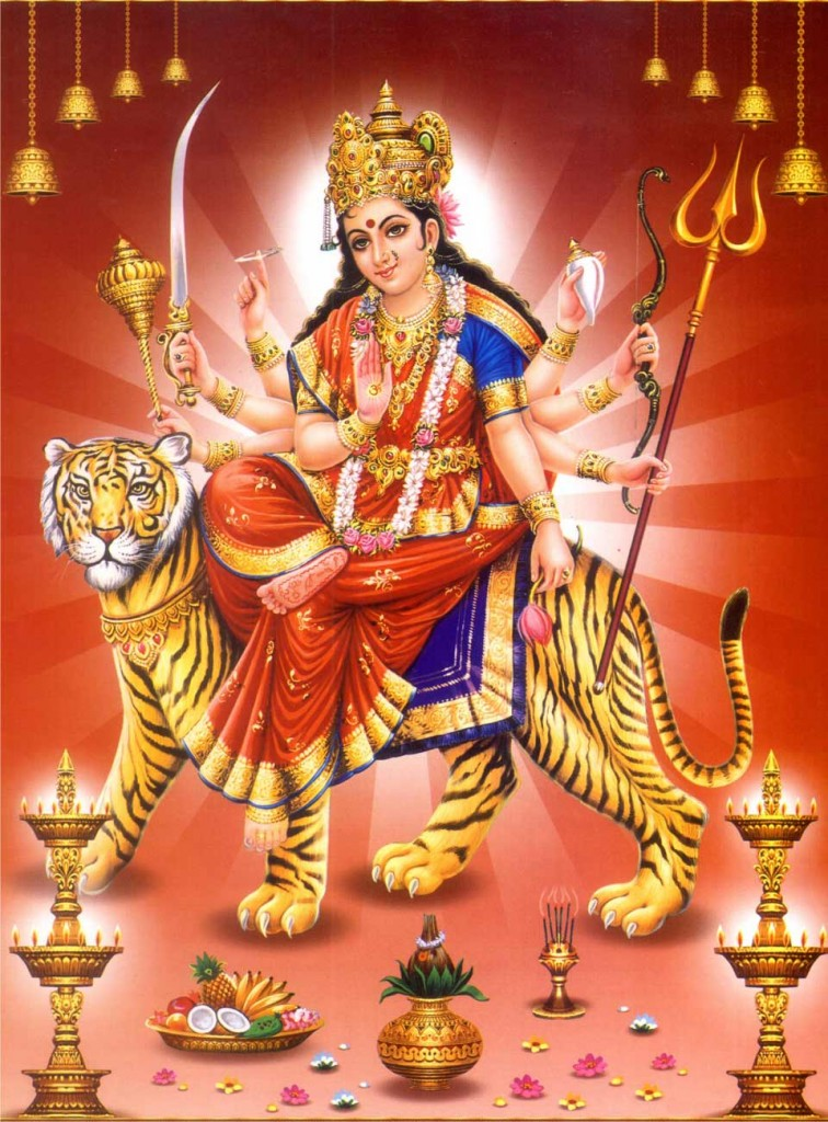 Durga Mata Hd Images   Full HD Wallpaper for Desktop Mobile Android 756x1024