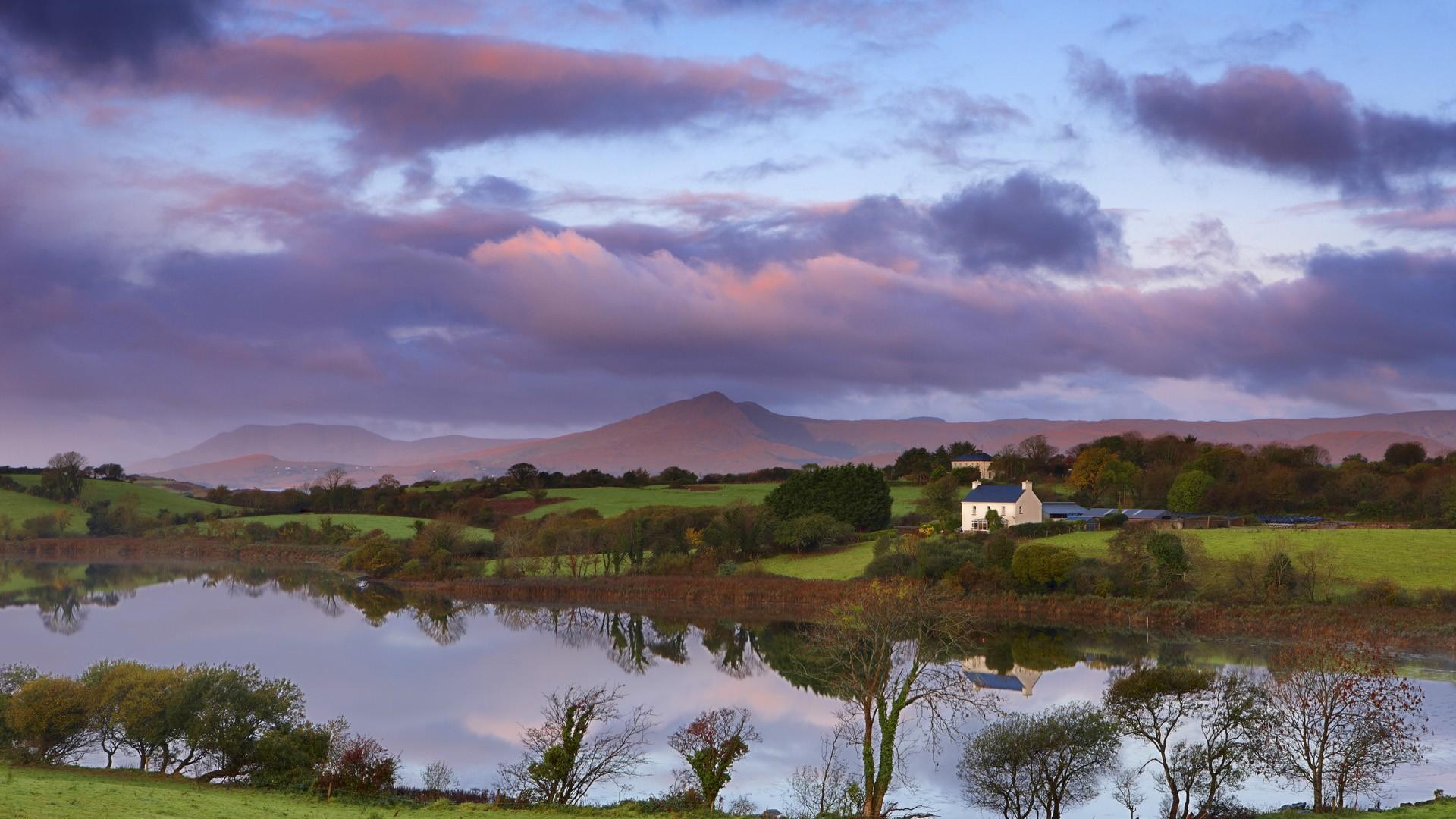 Beautiful Evening in Ireland   Wallpaper 33483 1920x1080