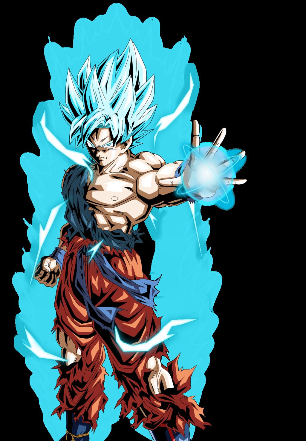 Goku SSJ God Wallpaper - WallpaperSafari