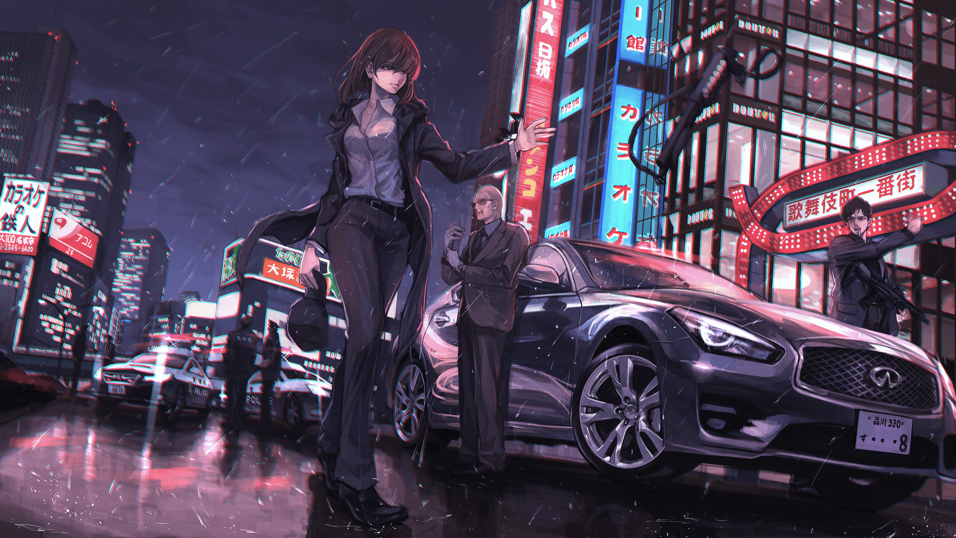 Police Anime Wallpapers   Top Police Anime Backgrounds 1920x1080