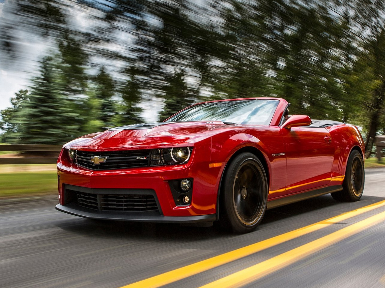 2013 Chevrolet Camaro ZL1 Convertible   Wallpapers 1280x960