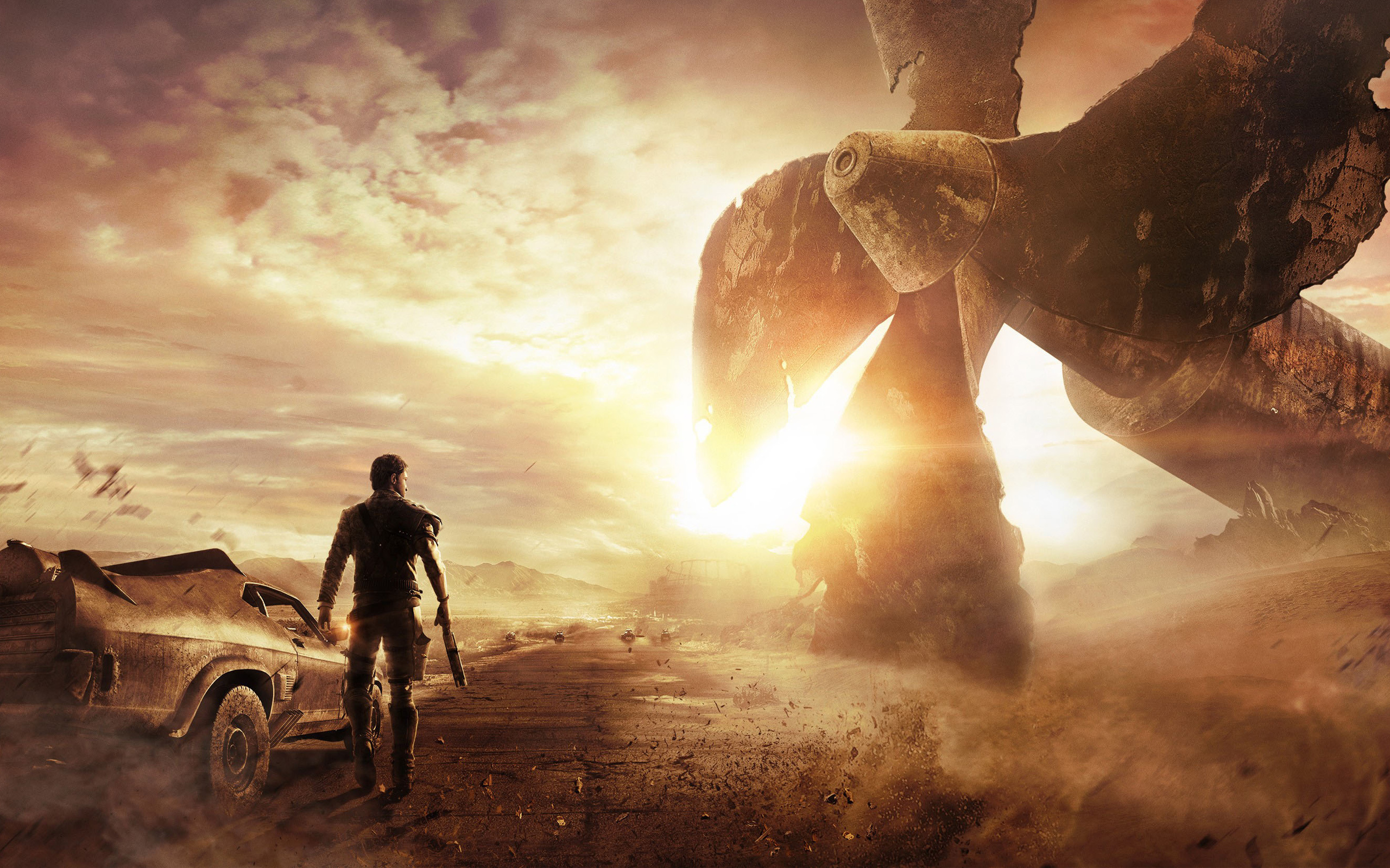 2014 Mad Max Game WALLPAPER 2560x1600