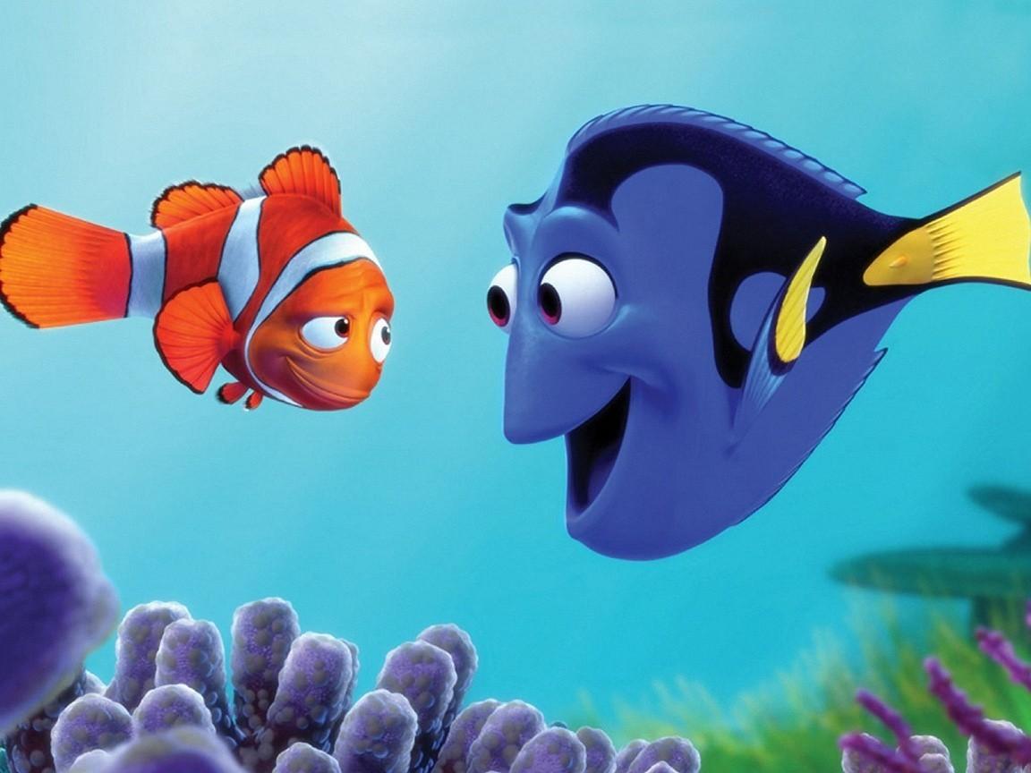 Finding Nemo Dory Marlin Wallpaper my sims 3 downloads 1152x864