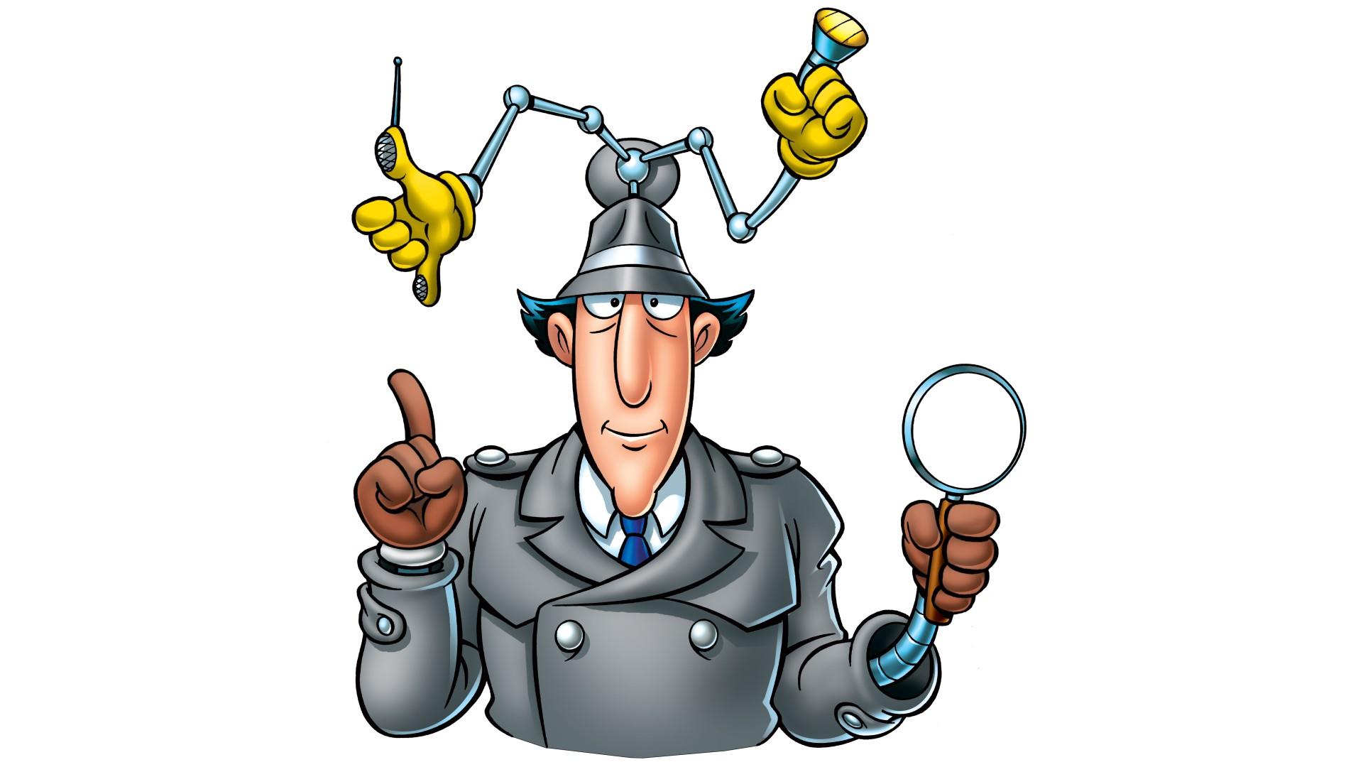Мультик инспектор гаджет рисунки