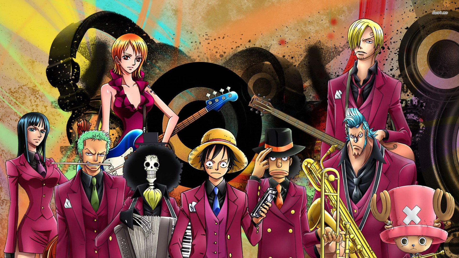 One Piece Background Desktop 1920x1080