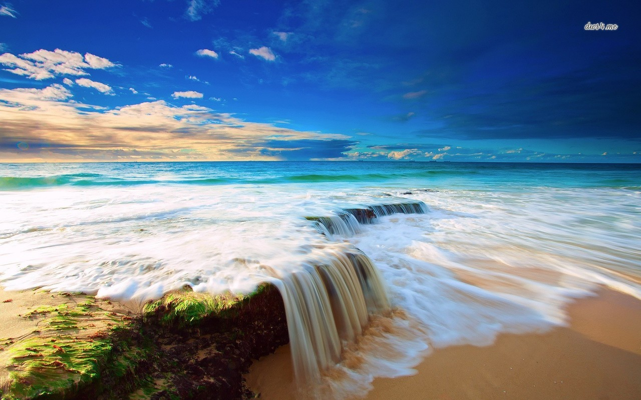 Ocean Waves Wallpaper - WallpaperSafari