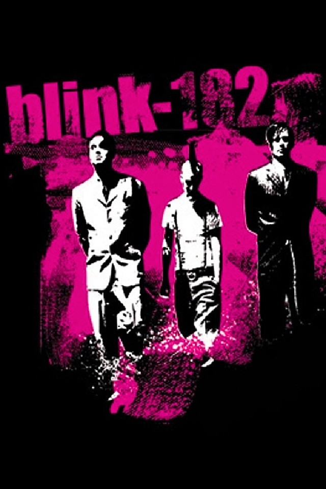 download Download for iPhone music wallpaper Blink 182 640x960