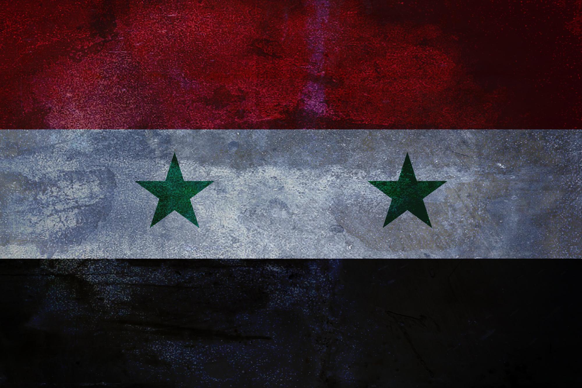 Syrian flag by SyrianDignity 2000x1333