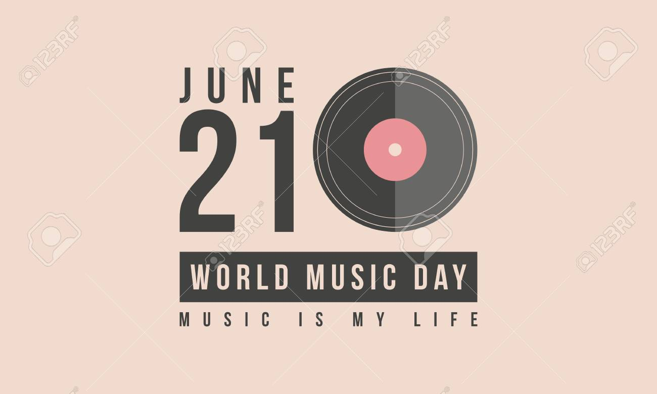 Collection Stock World Music Day Vector Art Illustration Royalty 1300x780
