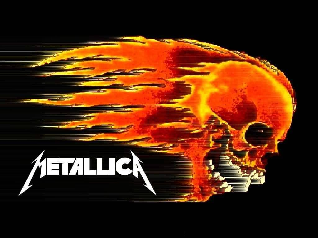 Download full size flaming skull Metallica Wallpaper Num 10 1024x768