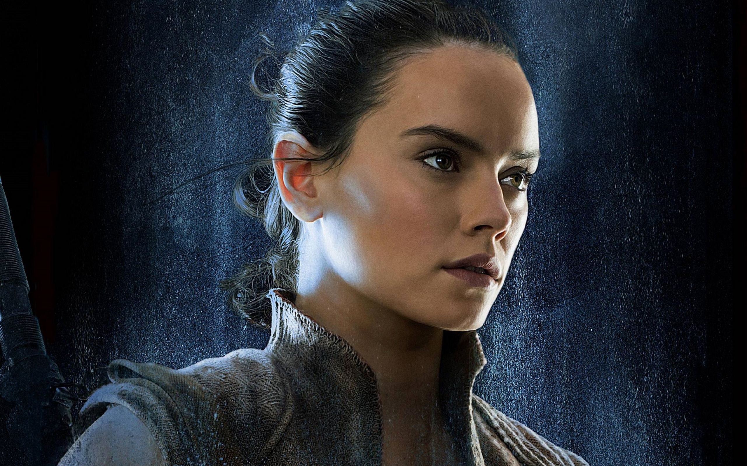 Wallpaper 4k Daisy Ridley Rey Star Wars The Last Jedi Daisy Jedi 2560x1600