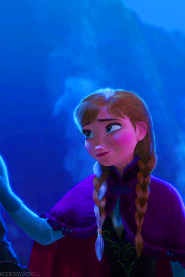 Frozen phone wallpaper   Princess Anna Photo 38994754 640x960