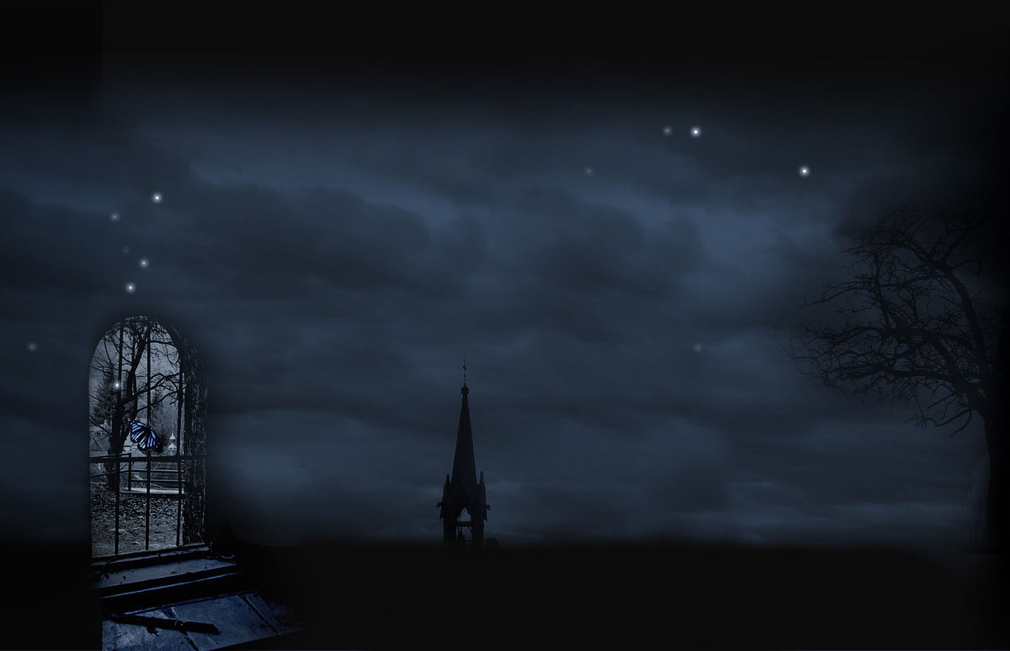 Gothic Background For Myspace 1440x928