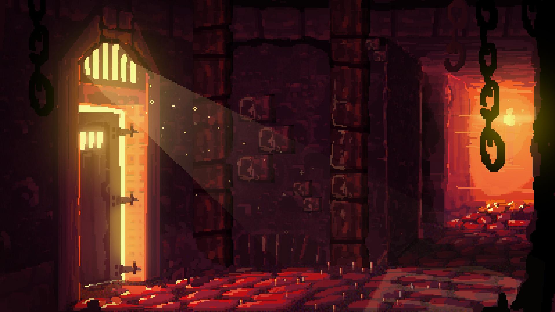 Pixel prison Wallpaper from Hammerwatch gamepressurecom 1920x1080