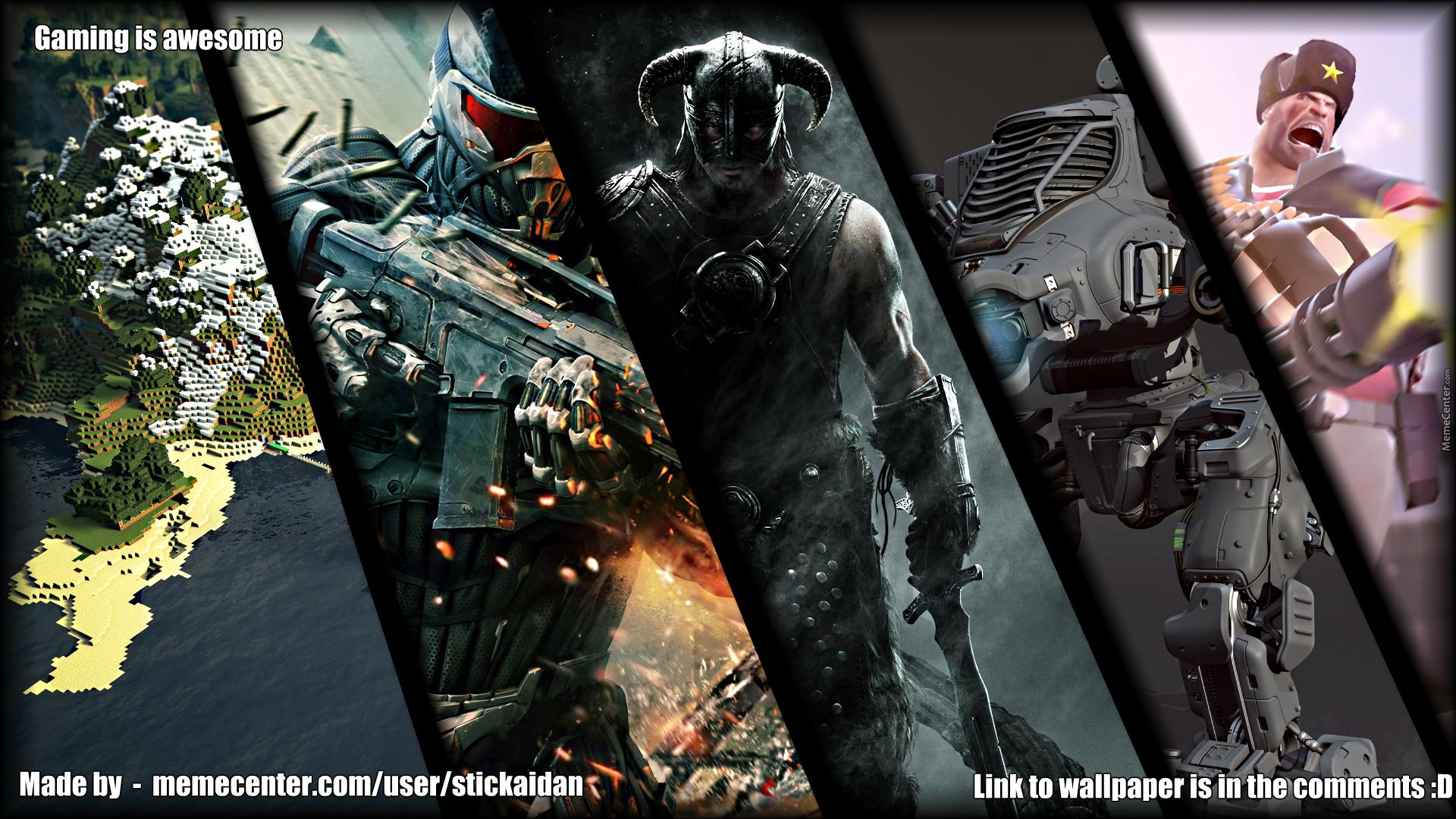 Awesome gaming desktop wallpaper wallpapersafari - Gaming wallpaper ...