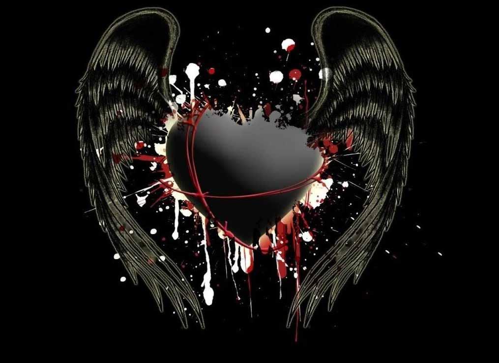 hd wallpapers wings wings heart wings heart desktop wings heart images 1015x738