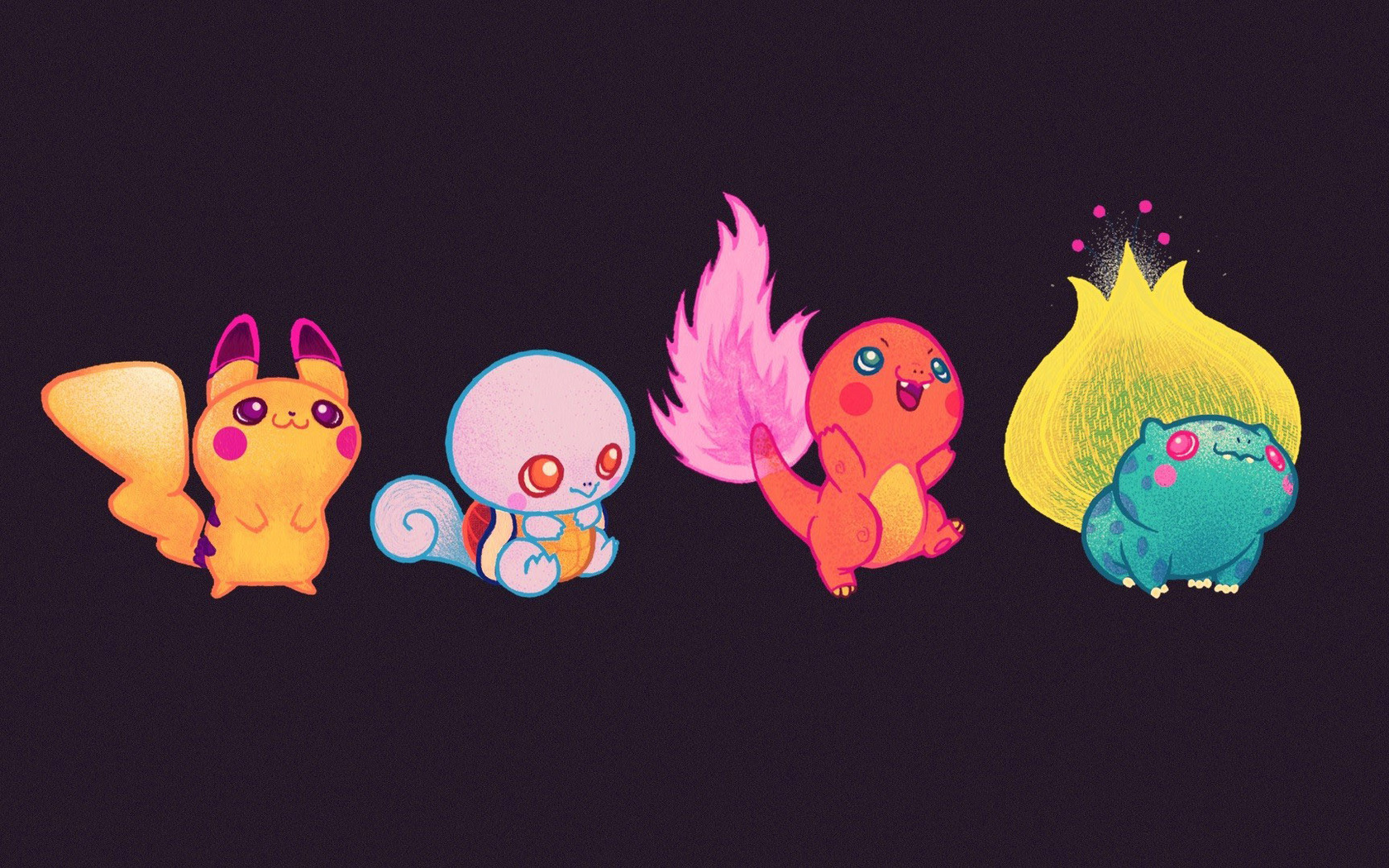 Download Cute baby Pokemon wallpaper 1680x1050