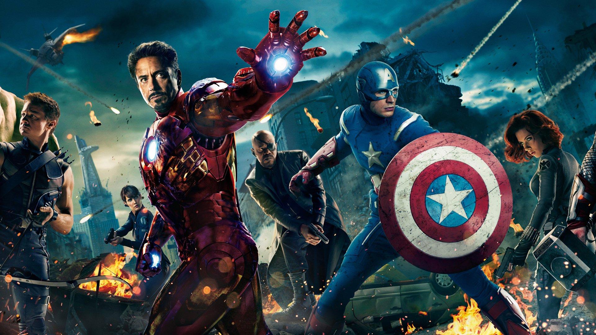 [42+] Avengers HD Wallpapers 1080p On WallpaperSafari