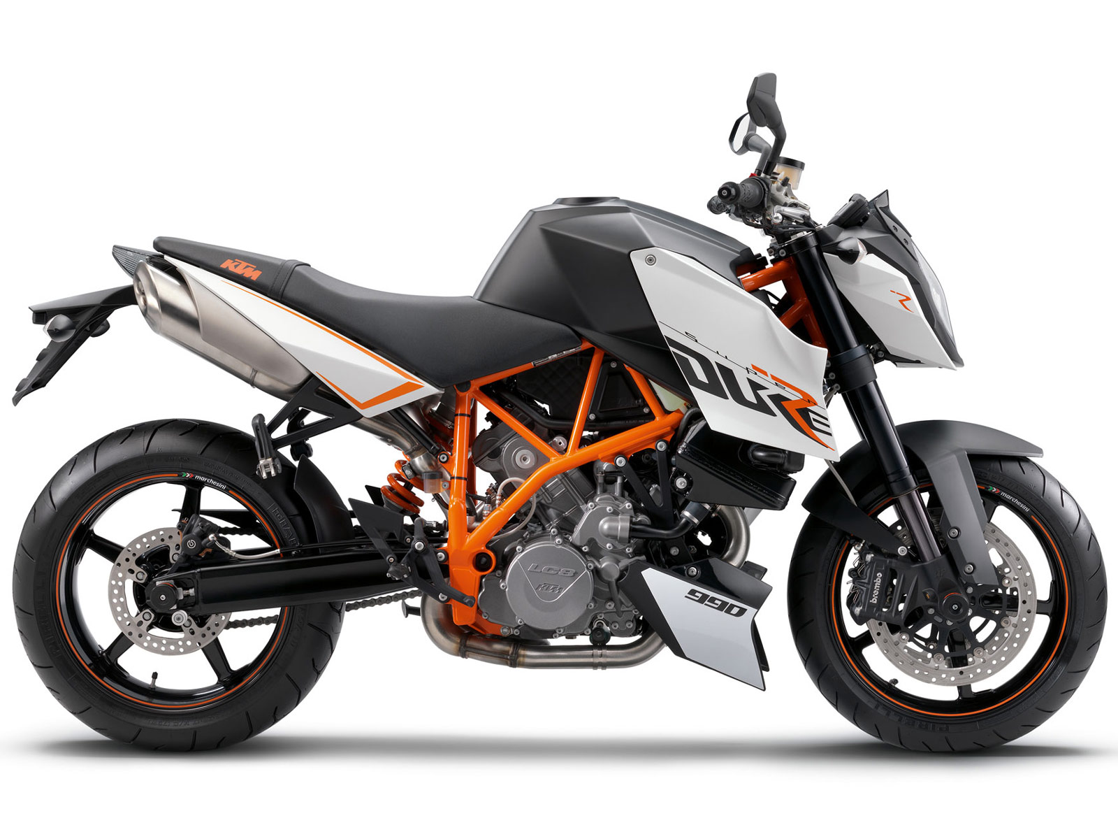 2012 KTM 990 Duke R Motorcycle review specifications 1600x1200