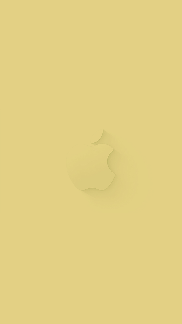 iPhone 5 Wallpaper Apple gold september2014 event 640x1137