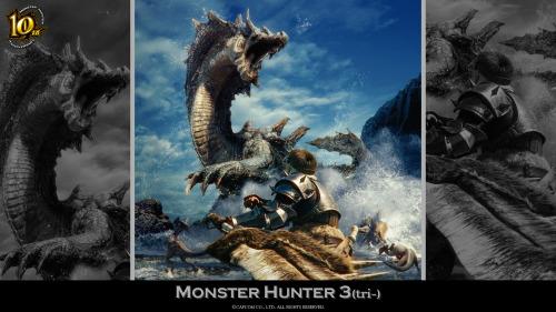 monster hunter 10th anniversary wallpaper wallpapersafari
