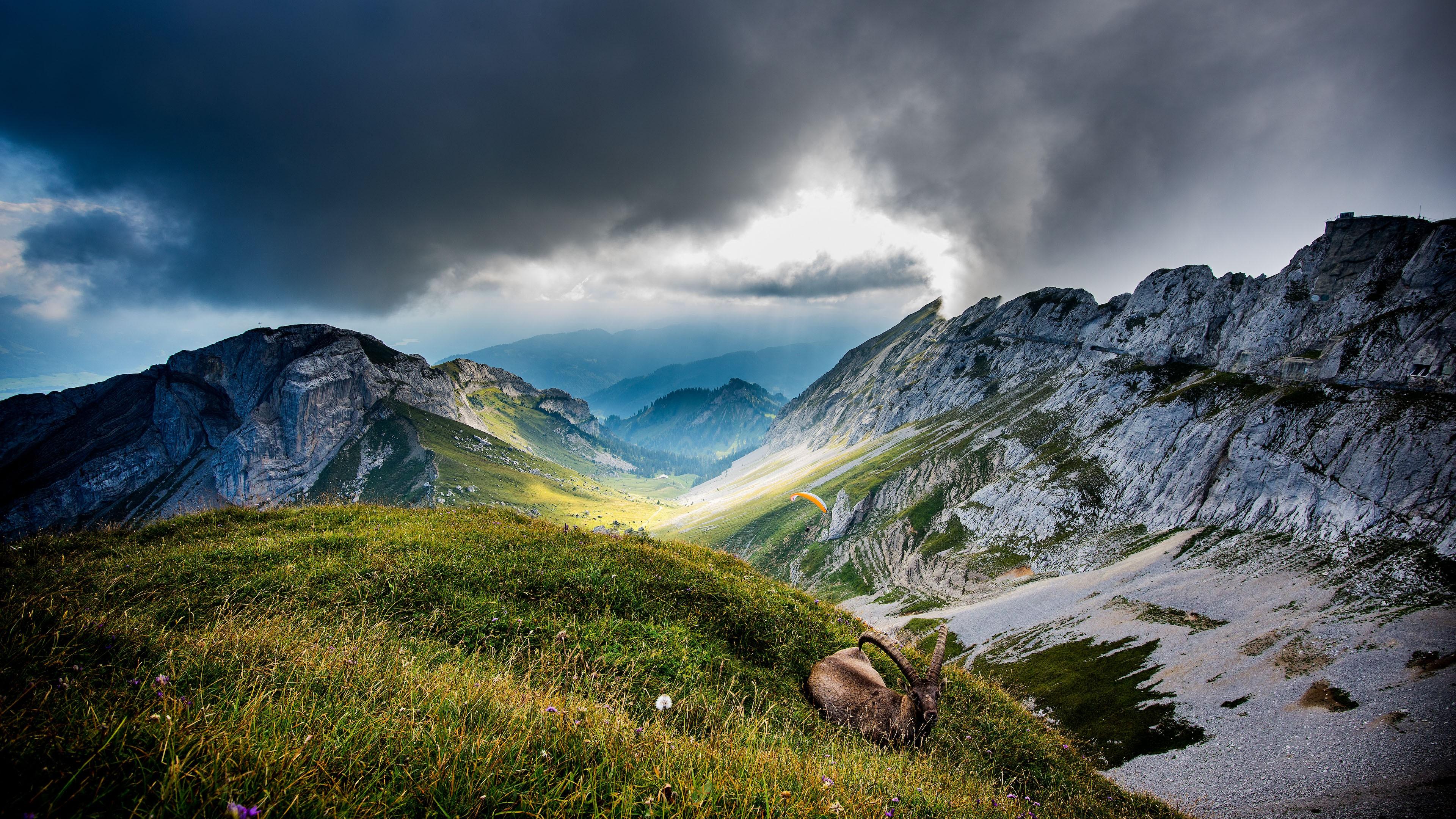 Wallpaper Mount Pilatus 5k 4k wallpaper Switzerland Mountains 3840x2160