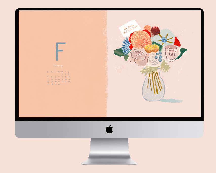 February 2018 Desktop Wallpaper   The House That Lars Built 853x683